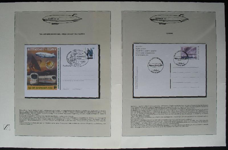 s277 zeppelin nt 66 flp mit bordsiegelmarke sammlung 1975 2007 in 4 rb. Black Bedroom Furniture Sets. Home Design Ideas